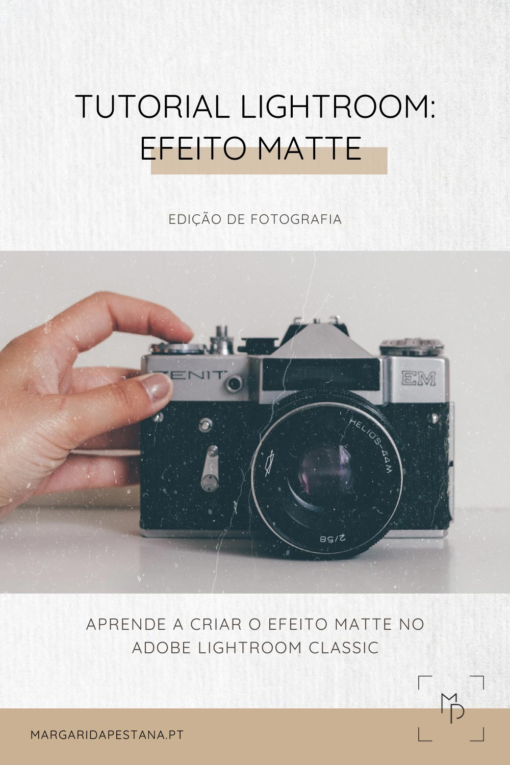 Tutorial Efeito Matte no Lightroom